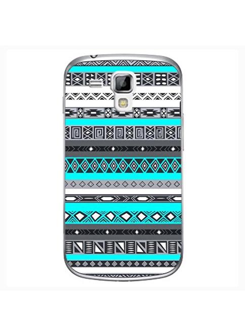 People's Cover Samsung S3 Mini Kabartmalı Telefon Kılıfı Renkli